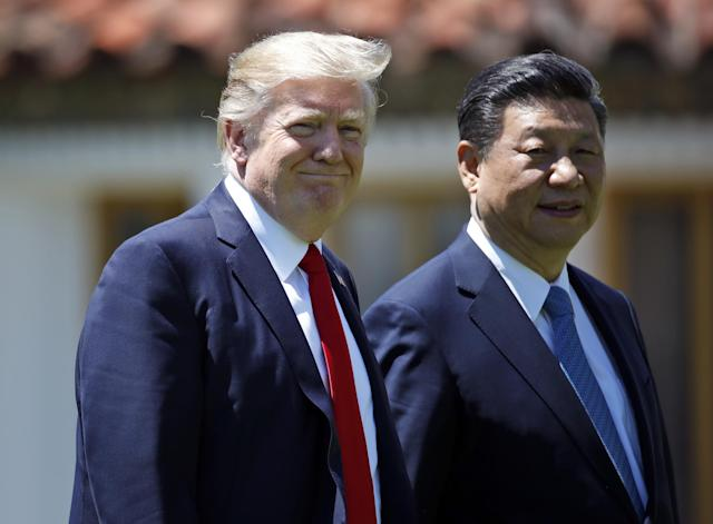 President Donald Trump held a phone conference with Chinese President Xi Jinping: AP