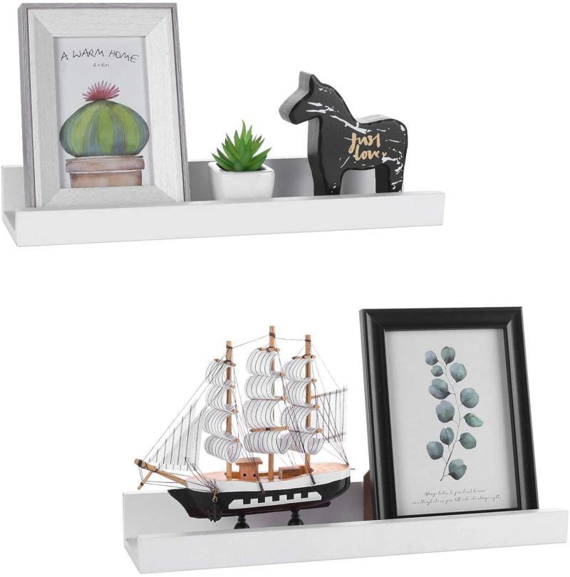 Halcent Picture Ledge Shelf (Photo via Amazon)