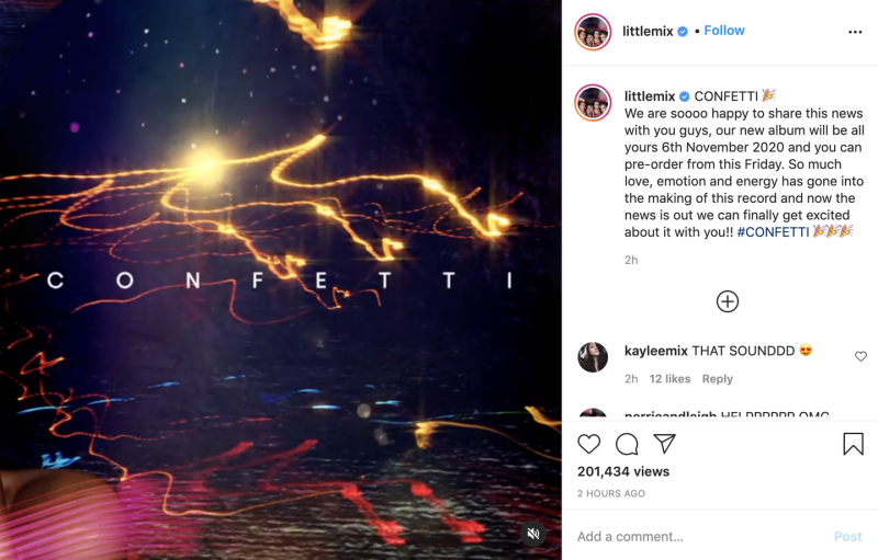 Photo credit: Little Mix - Instagram