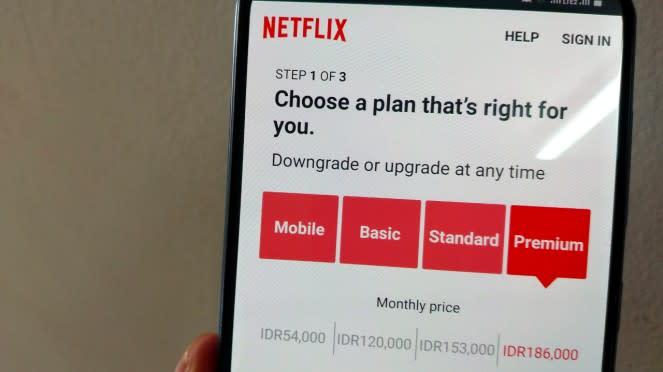 Paket Netflix