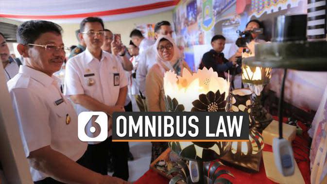 VIDEO: Keuntungan Omnibus Law Sektor UMKM