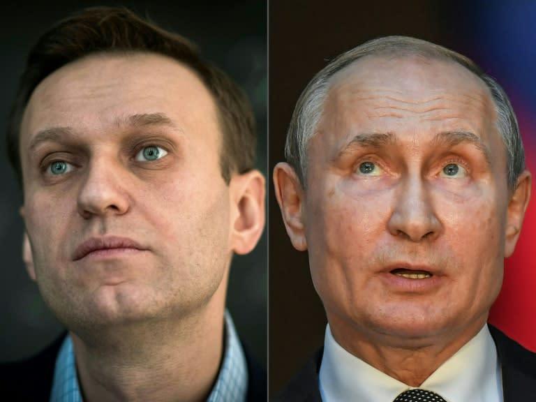 Kremlin says Navalny charges against Putin 'unacceptable'