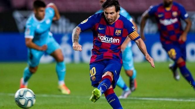 Ayah Beli Rumah di Milan, Kode Messi Jadi Gabung ke Inter?
