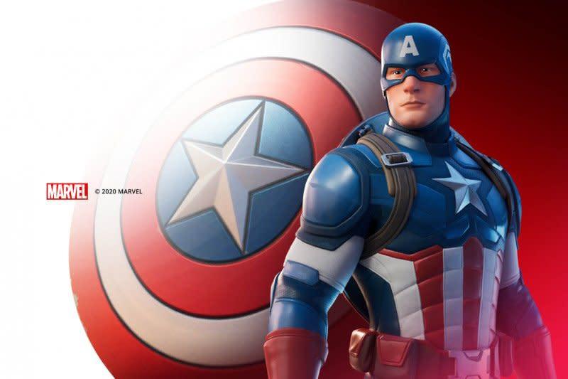 Captain America hadir di Fortnite