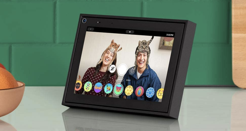 Facebook Portal Mini Smart Video Calling Touch Screen Display with Alexa
