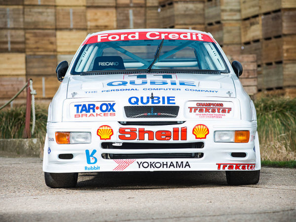 BTCC房車賽戰駒再展當年風華!FORD Sierra Cosworth RS500 Gr.A現身英國拍賣會