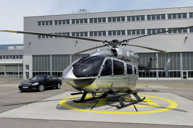 The Mercedes-Benz of Helicopters