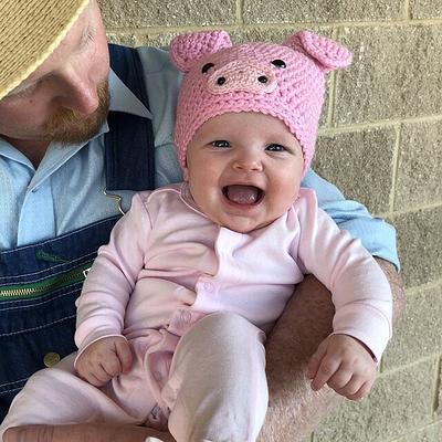 Newborn Photos Halloween Prop Crochet Props Knit Prop JoellaCrochet Photo Prop Baby Boy Hat Candy Corn Hat Halloween Hat Newborn Hat