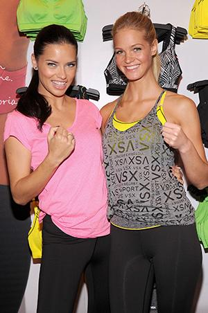 Victoria's Secret Angels Don't Always Feel Like Working Out Either