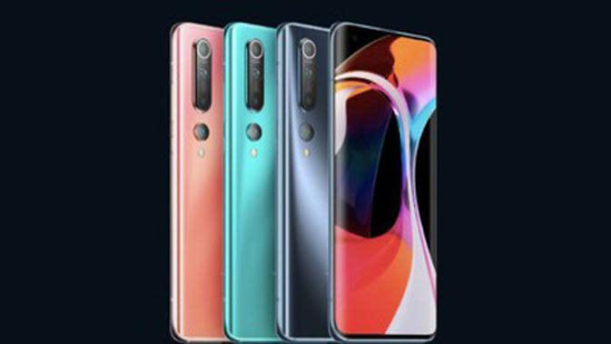 Xiaomi Mi 10. (Doc: Xiaomi)