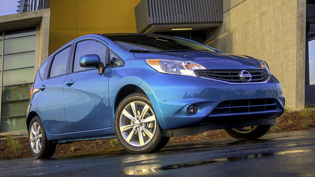 2014 Nissan Versa Note, putting the hatch in the match: Motoramic Drives