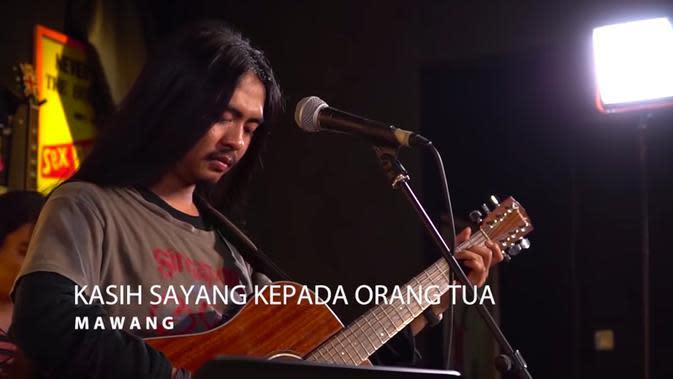 Lagu Mawang yang viral, 'Kasih Sayang Kepada Orang Tua' (youtube: MAWANG)