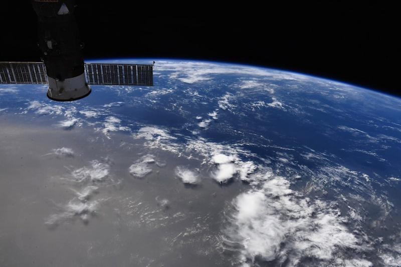 Space station astronaut speaks of the joy of photographing Earth