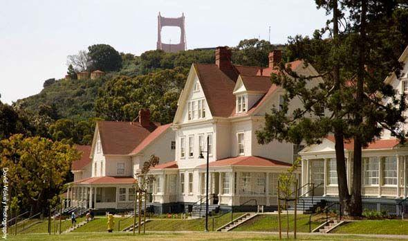 """<p>Located at the base of the Golden Gate Bridge in historic Fort Baker, <a href=""""https://www.cavallopoint.com/"""" target=""""_blank"""">Cavallo Point</a> (which is also known as the Lodge at the Golden Gate) offers a level of luxury on par with some of the world's greatest resorts smack dab in the middle of a national recreation area just minutes from downtown San Francisco. (Think top-notch spa services, guided hikes meditation, a cooking school, and even an online vacation planner.) Guests have the option to stay in historic or contemporary lodgings. </p>"""