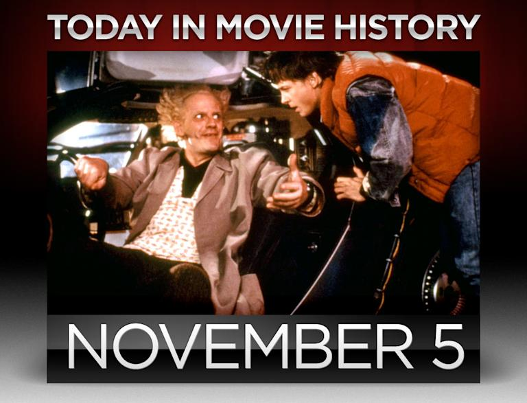 today in movie history, november 5