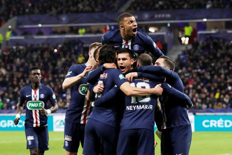 Coupe de France - Semi Final - Olympique Lyonnais v Paris St Germain