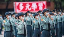 蔡總統主持三軍士官新生聯合開學典禮 勉傳承韓總士官長精神