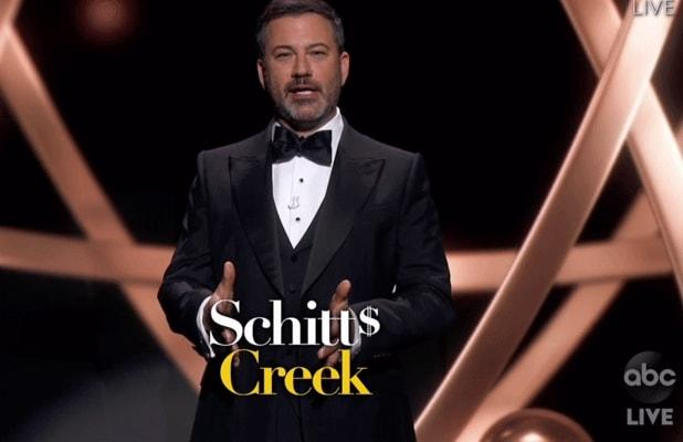 Did ABC Really Require Emmys to Put 'Schitt's Creek' Logo on Screen Whenever Show Is Mentioned?