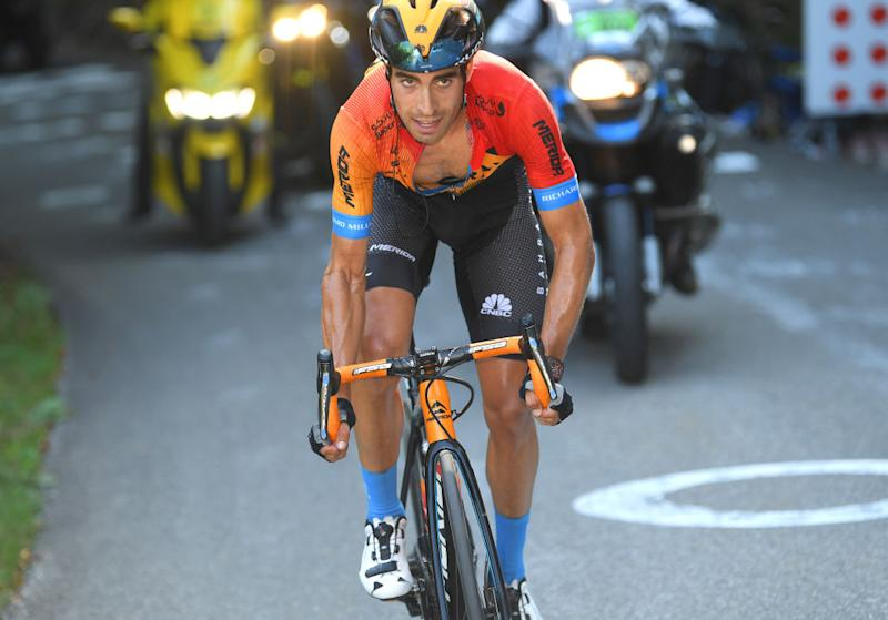 Bahrain McLaren's Mikel Landa equalled his best-ever result of fourth overall at the 2020 Tour de France