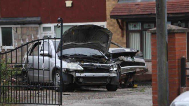 Mobil kakek istri Gareth Bale yang diledakkan oleh anggota mafia