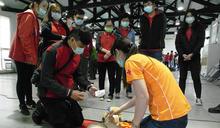學會一身救人本領 中市環保局培訓百名救護人力