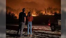加州野火每5秒燒1英畝 知名酒鄉納帕谷遭火吞噬萬人撤離
