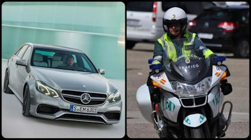 Spanish police impound fleet of Mercedes AMGs from media test drive