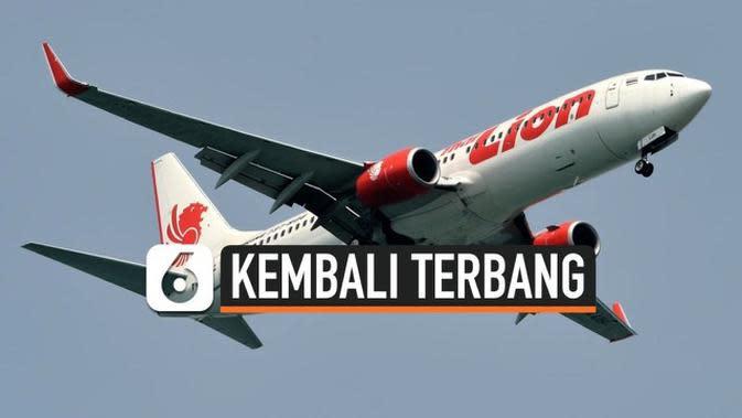 VIDEO: Lion Air Kembali Terbang Layani Penumpang Mulai 10 Juni
