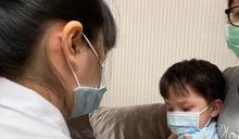幼兒流感急診人次攀升 指揮中心籲:儘早帶幼兒接種疫苗