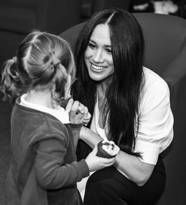 One mum recalled an 'amazing' interaction between Meghan and her daughter. Photo: Instagram/sussexroyal.