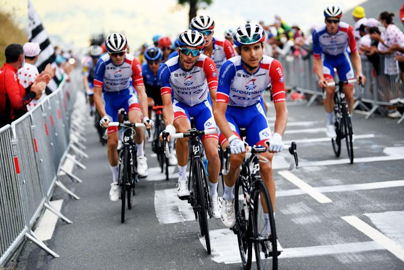 Groupama-FDJ at the Tour