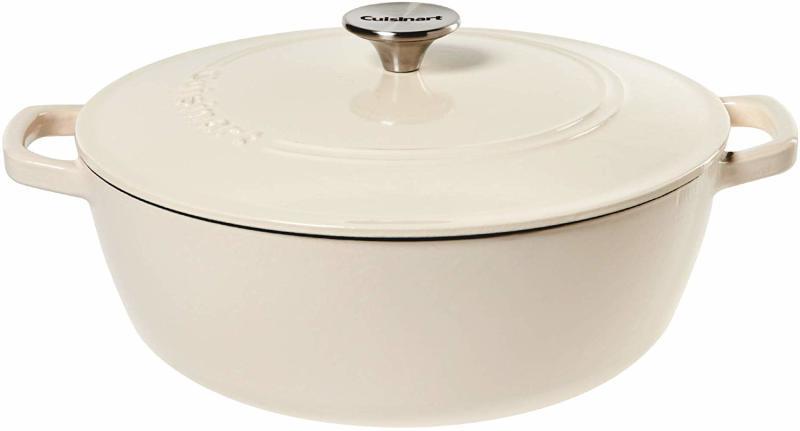 Cuisinart Round Casserole, Cream, 5.5 quart. (Photo: Amazon)