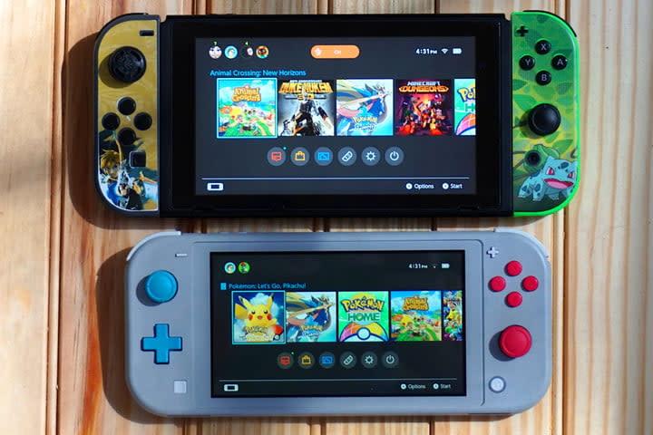 Nintendo Switch Consoles Comparison