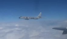 28架共機擾台 美國防部:破壞穩定增誤判風險