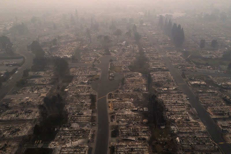 Oregon's wildfires force mass evacuations as shifting weather offers glimmer of hope