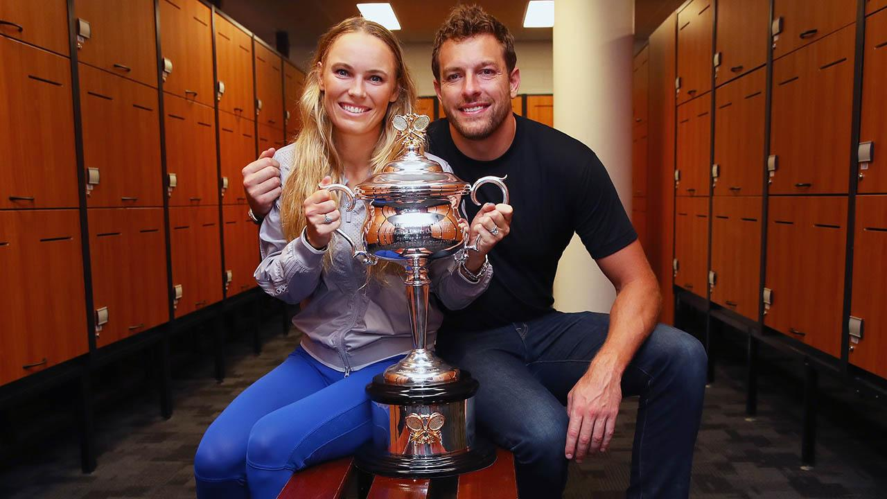 <p>Danish tennis player Caroline Wozniacki is set to marry basketball player David Lee. (Photo by Clive Brunskill/Getty Images) </p>