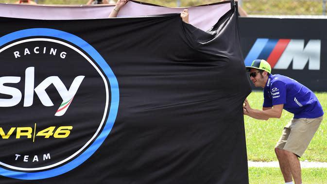 Sky Racing VR46 siap tempur di Moto2 dan Moto3 (Mohd RASFAN / AFP)