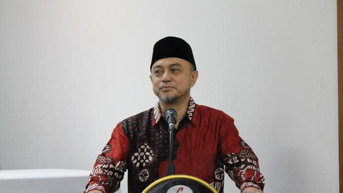 Tokoh Pendidikan Sulsel, Tamsil Linrung (Fauzan/Liputan6.com)