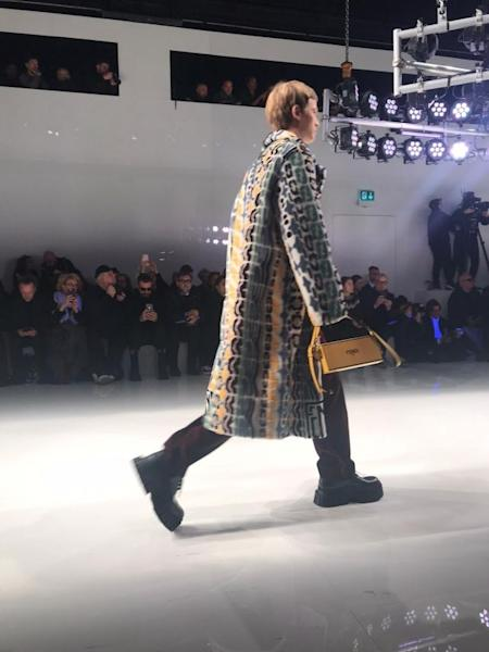Fendi's 2020-2021 fall-winter runway show in Milan