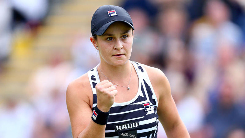 Ashleigh Barty to become world No 1 after winning Birmingham title