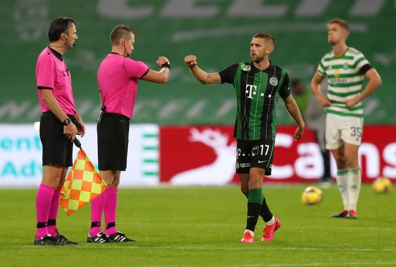 Celtic dumped out of Champions League by Ferencvaros