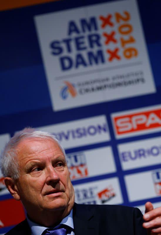 European athletics chief Hansen dies after stroke