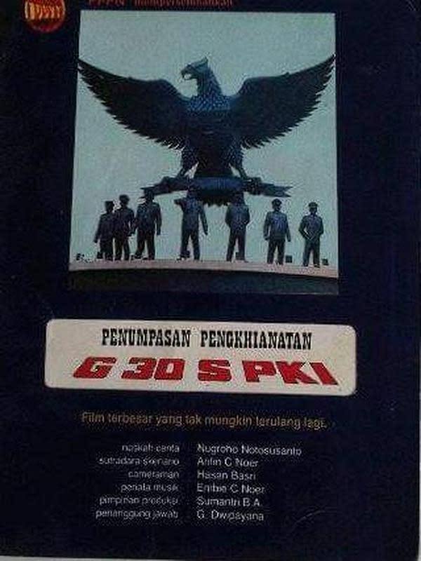 Poster film Pengkhianatan G30S/PKI. (Foto: Koleksi Pribadi Daniel Irawan)