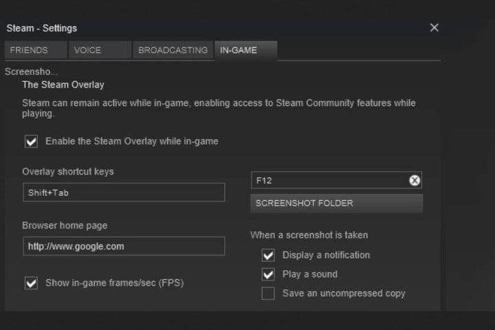 Image of Steam FPS Counter