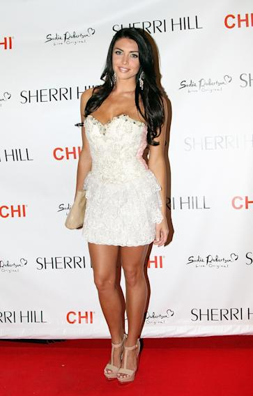 Evening By Sherri Hill - Front Row - Mercedes-Benz Fashion Week Spring 2014