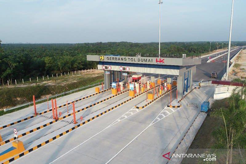 Besok, Jalan Tol Pekanbaru-Dumai bisa dilalui masyarakat secara gratis