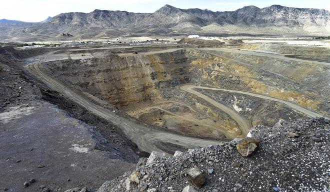 The rare earth mine in Mountain Pass, California. Photo: MP Materials