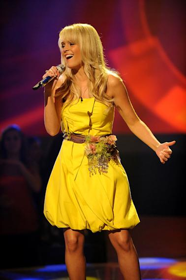"Kendall Beard performs ""This One's for the Girls"" by Martina McBride on ""American Idol."""