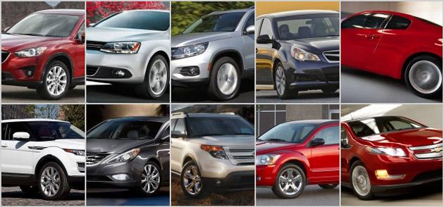 Top new car lease and finance deals for July 2012