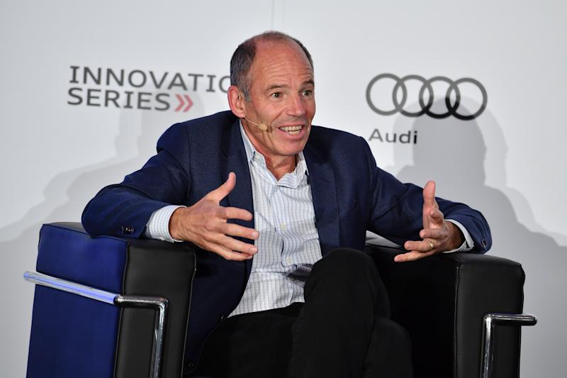 TORONTO, ON - JUNE 05: co-founder of Netflix Marc Randolph speaks at The Audi Innovation Series held at Four Seasons Hotel on June 5, 2018 in Toronto, Canada. (Photo by George Pimentel/Getty Images for Audi)